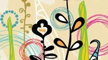Flores multicolores variadas