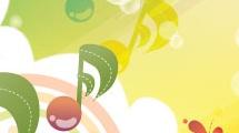 Ilustración sobre música
