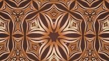 Patrón radial marrón