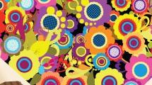Ramo de flores multicolores