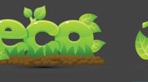 Set de iconos sobre ecología