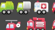 Vehículos y señales de tránsito
