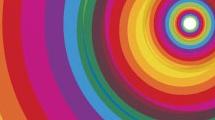 Círculos multicolores