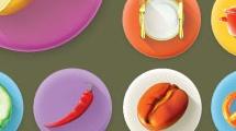 Comidas y utensilios