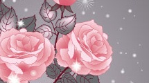 Rosas luminosas