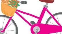 Bicicleta fucsia