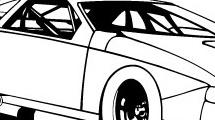 Dibujo de auto