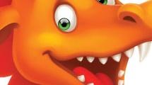 Dragón anaranjado