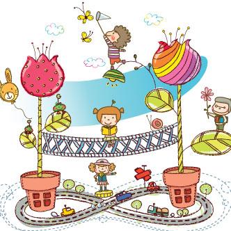 Vector gratis de Mundo infantil