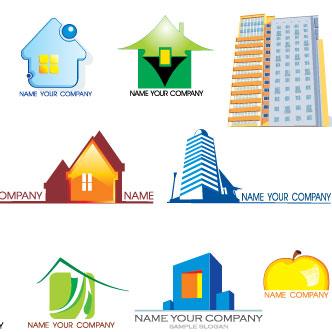 vector gratis de compañía de bienes raíces - Bienes Inmuebles Dibujos