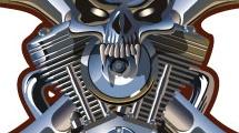 Calavera de metal