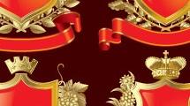 Escudos con coronas