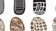 Huellas de calzados