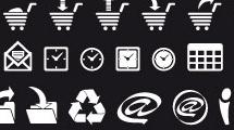 Set con iconos