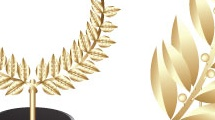 Trofeos con laureles