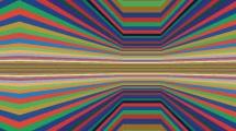 Arte óptico multicolor