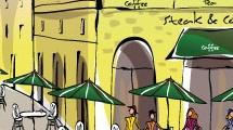 Café al aire libre