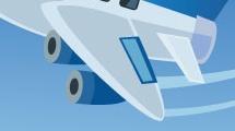 Caricatura de avión