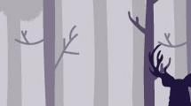 Ciervo en el bosque