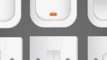 Interruptores blancos