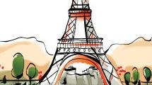 París y la Torre Eiffel