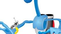 Robot corriendo