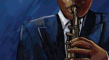 Saxofonista negro