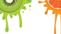 Splash con frutas