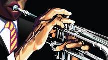 Trompetista negro