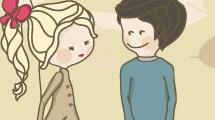 Ilustración sobre el día de los enamorados