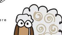 Tarjeta con oveja