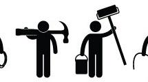 Trabajadores y herramientas