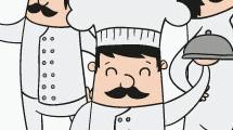 Cocineros en acción