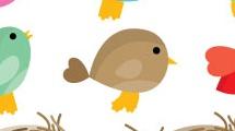 Pájaros y nidos