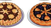 Pastelería: tartas dulces