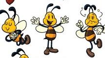 Pequeñas abejas