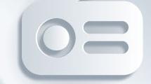 Icono de radio 3d