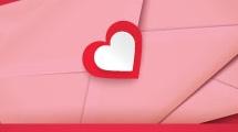 Sobres con corazones