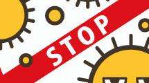 Logo de prevención contra virus