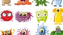 Colección de bacterias y virus
