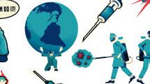 Elementos de diseño sobre coronavirus
