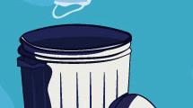 Eliminación de desechos infectados