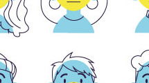 Figuras de niños con barbijo