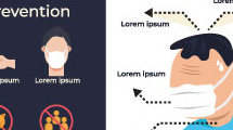 Infografía con síntomas de covid