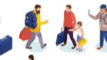 Gente en viaje