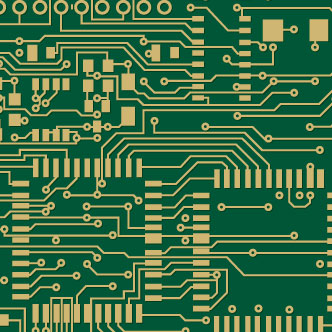Vector gratis de Circuitos electrónicos