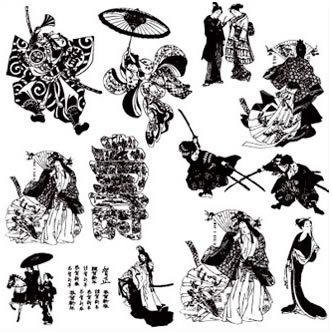 Geisha tattoo Flash - Disegni di geisha per il tuo tattoo - Do It!
