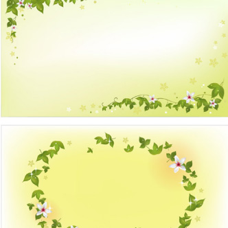 Marcos Florales Verdes
