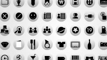 100 iconos web en gris y negro