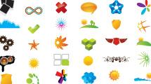100 logos variados